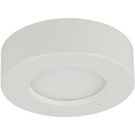 Panneau de construction LED, 650 lumens, dimmable, circuit CCT, D 12,2 cm, PAULA