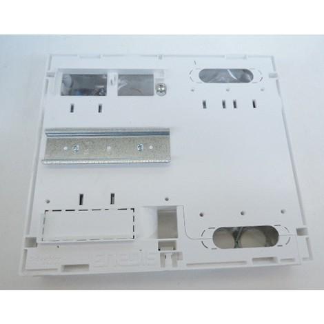 Panneau de contrôle blanc 250X250mm H45mm pour compteur EDF monophasé LINKY ou CBE Opale SCHNEIDER ELECTRIC OPL13416