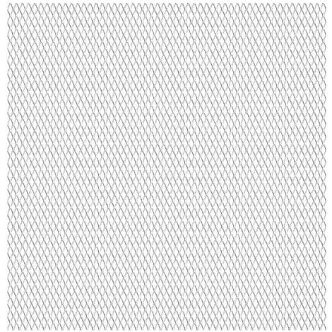 Panneau de grillage de jardin Acier inox 50x50 cm 45x20x4 mm