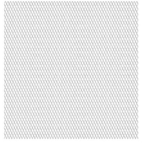 Panneau de grillage etendu Acier inox 50x50 cm 20x10x2 mm