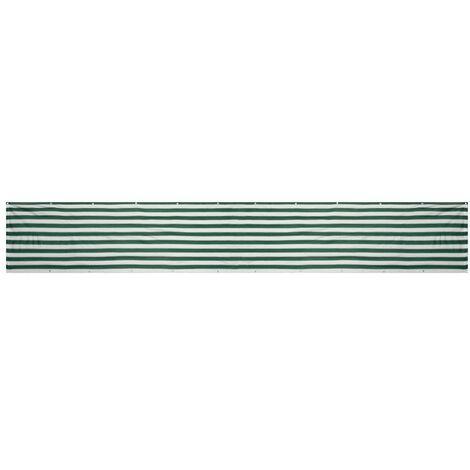 Panneau de mur de pare-soleil de jardin de cl?ture d'écran de protection de HDPE de balcon d'écran d'intimité de balcon 4M- 90x400cm (whitegreenassorted, 90X400CM)