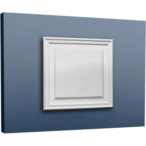 Panneau de porte aplati Elément Orac Decor D506 LUXXUS décoratif avec profil pour le mur et la porte