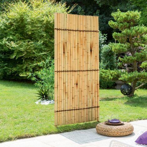 Panneau décoratif de jardin en bambou 180x90cm - Bambou NORTENE - Extérieur - Bambou NORTENE
