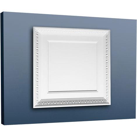 Panneau décoratif de porte, du mur et du plafond Orac Decor F31 LUXXUS Elément décoratif de polyuréthane 60 x 60 cm