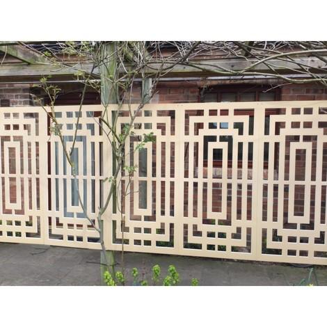 Panneau décoratif extérieur LABYRINTHE