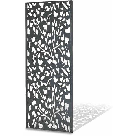Panneau décoratif extérieur métal 160 x 60 cm
