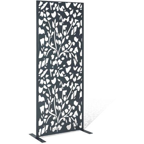 Panneau décoratif universel 160x60 cm FLOWER gris