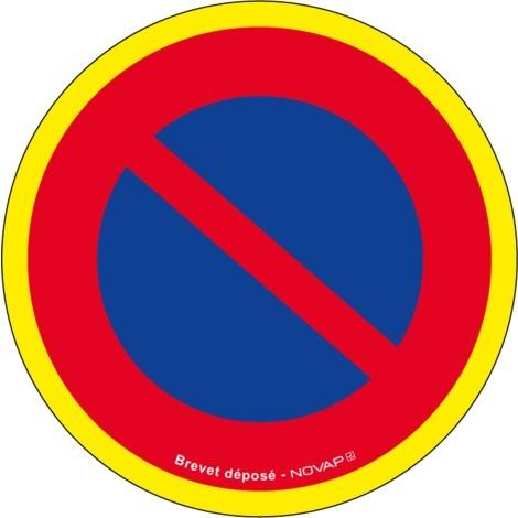 Panneau Défense de stationner - haute visibilité - Novap