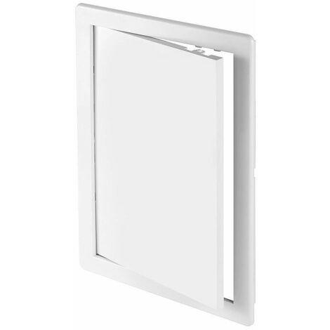 Panneau d'inspection durable en plastique ABS blanc Hatch mur porte d'accès 150x150mm