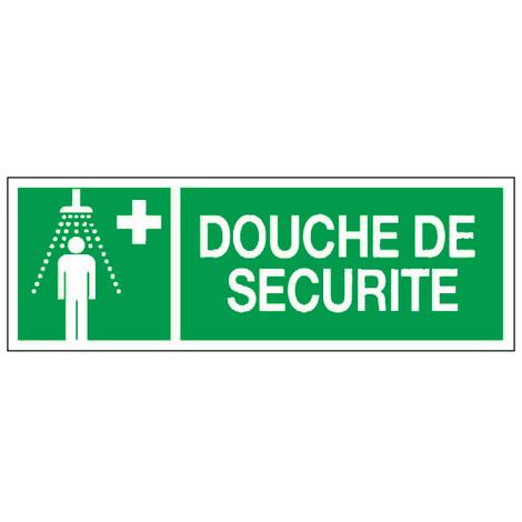 Panneau Douche de sécurité - Rigide 330x120mm - 4140674