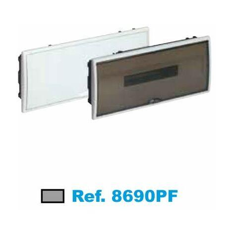 Panneau électrique encastré 22 éléments fumé Solera Arelos 8690PF