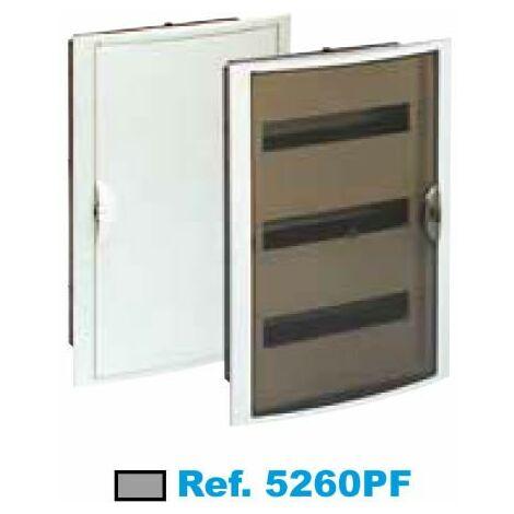 Panneau électrique encastré 42 éléments fumé Solera Arelos 5260PF