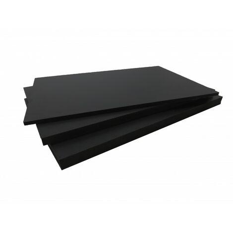 Panneau fibre composite plat et lisse (2 coloris)