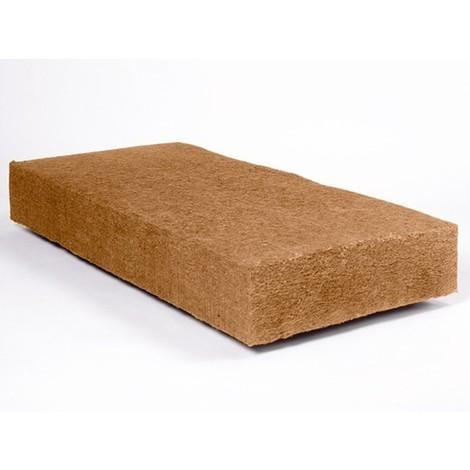 Panneau fibre de bois flexible STEICO FLEX | Ep. 120mm 57cmx122cm Densité=50kg/m³ R : 3,16 - paquet(s) de 2.81m²