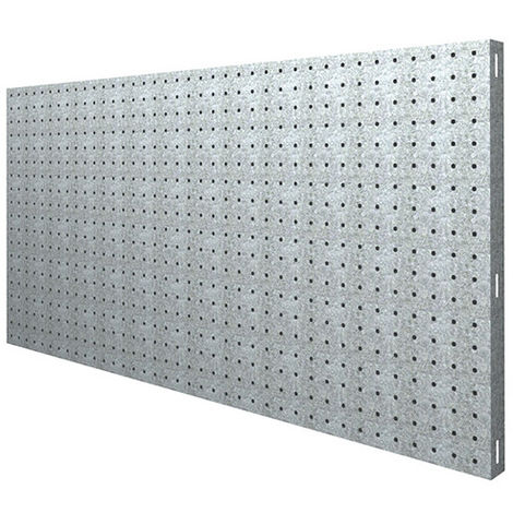 Panneau fond perforé L. 900 x Ht. 600 mm KIT PANELCLICK 900x600 GALVA - 707100024906001 - Simonwork - -