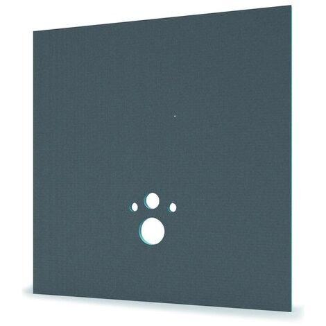 Panneau habillage Bâti-supports Wedi I-Board 1200x1245x20mm