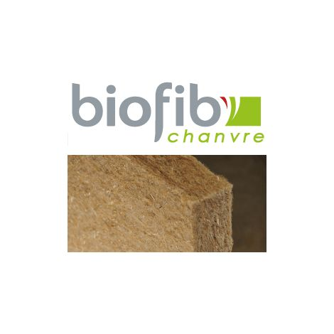 Panneau isolant BIOFIB CHANVRE | Ep.100mm 1,25x0,6m | R=2,5 - paquet(s) de 4.5m²