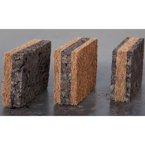 Panneau isolant en liège et fibre de coco Corkoco - Amorim