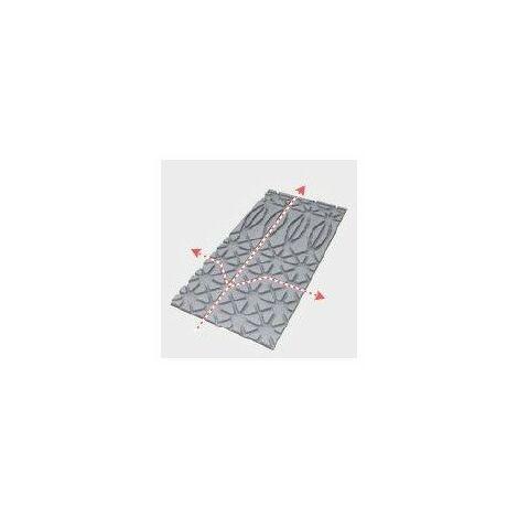 Panneau isolant Omsolisol pour plancher chauffant Omegasol - graphité - 30mm