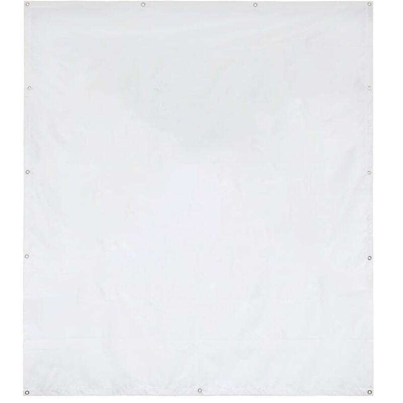 Vidaxl - Panneau latéral de tente de réception PVC 2x2 m Blanc 550 g/m²