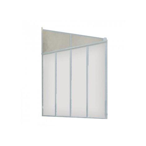 Panneau Latéral pour Toit Terrasse 3 m - Blanc