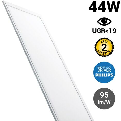 Panneau LED 120X30 42W 3280lm encastrable ultra plat UGR19