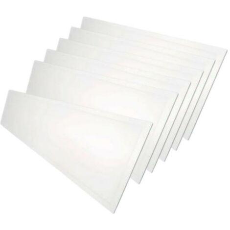 Panneau LED 120x30 48W BLANC (Pack de 6) - Blanc Froid 6000K - 8000K