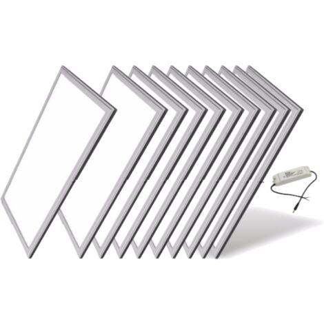 Panneau LED 60x30 Slim 30W (Pack de 10) - Blanc Chaud 2300K - 3500K