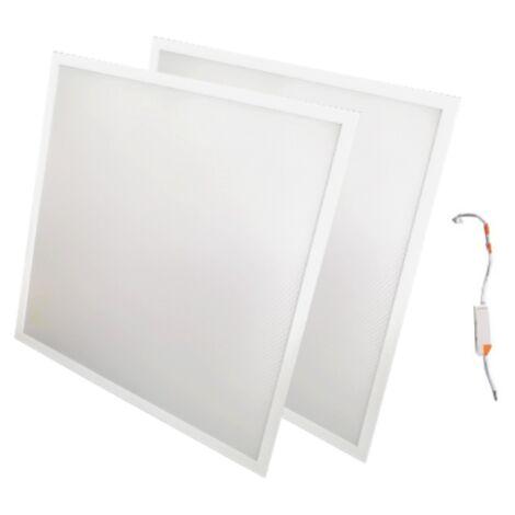 Panneau LED 60x60 48W BLANC (Pack de 2)