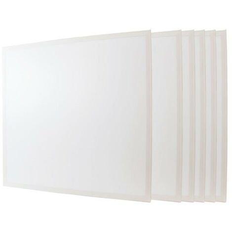 Panneau LED 60x60 48W BLANC (Pack de 6) - Blanc Froid 6000K - 8000K