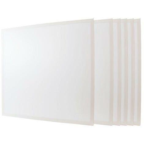 Panneau LED 60x60 48W BLANC (Pack de 6) - Blanc Neutre 4000K - 5500K