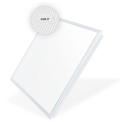 Panneau LED 60X60 cm 48W 4800LM Cadre Blanc (UGR 17) LIFUD Garantie de 5 ans