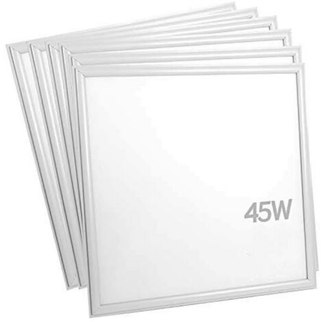 Panneau LED 60x60 Slim 45W BLANC (Pack de 6) - No Flicker
