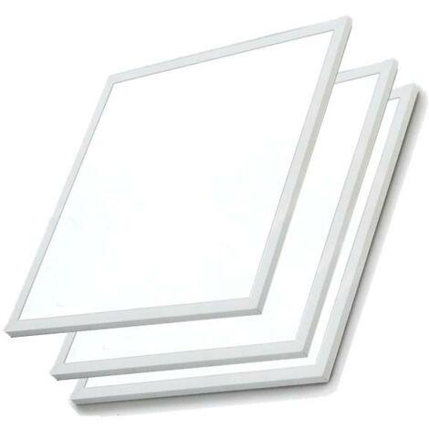 Panneau LED 60x60 Slim 48W BLANC (Pack de 3)