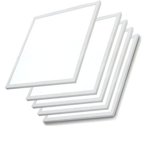 Panneau LED 60x60 Slim 48W BLANC (Pack de 5) - Blanc Froid 6000K - 8000K