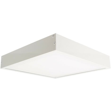 Panneau LED 60x60cm 40W 4000lm (UGR17) + Kit en Saillie Blanc Froid 5500K - 6000K - Blanc Froid 5500K - 6000K