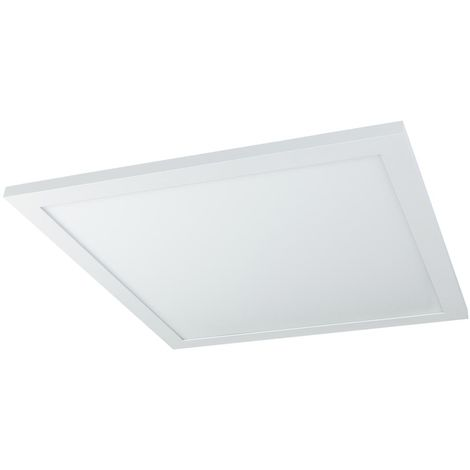 Panneau LED allumé et d'installation, 2400 lumens, application, CCT, dimmable, L 45 cm, ROSI