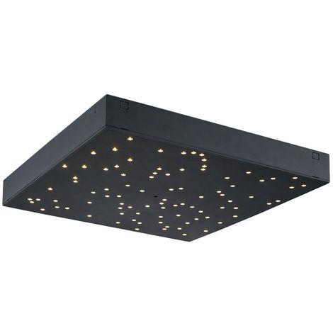 Panneau LED ciel étoilé VT-7128 V-tac - 30 x 30 cm - noir - 8W - peut être accouplé - variable