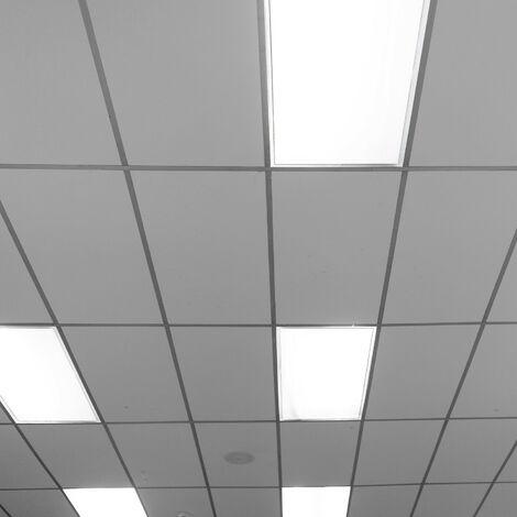 Panneau LED Dimmable CCT Sélectionnable 120x30cm 40W 3600lm Sélectionnable (Chaud-Neutre-Froid)