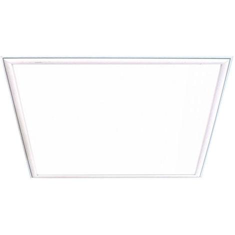 Panneau LED pour plafond encastrable blanc salon grille lumineuse ALU lampe 60 cm V -TAC 6471