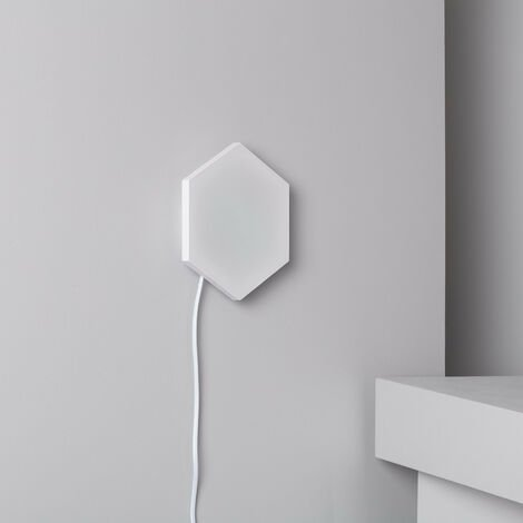 Panneau LED Hexagonal 9x9cm 3.5W Base Principale Blanc Neutre 4000k-4500K