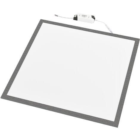 Panneau LED Luminaire Carré Plafonnier Dalle Plafond 40 W A++ 62 x 62 cm Blanc Naturel