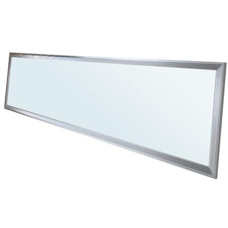Panneau LED plafonnier suspendu 42W 120x30 cm blanc froid 6000K lampe plafond