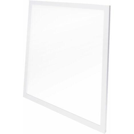 Panneau LED Ultrafin 60x60Cm Cadre Blanc 36W 3623Lm UGR 19 30.000H | Blanc froid (HO-PANMB59559536W-CW)