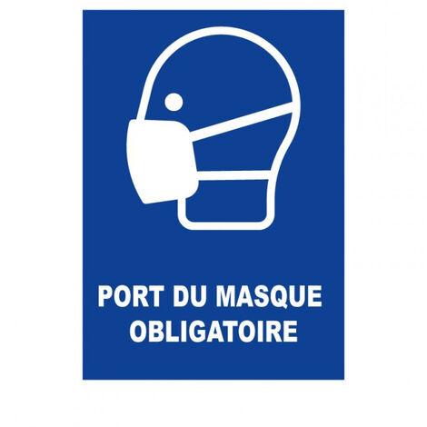 Panneau Masque de protection obligatoire - Rigide A4 - TOPCAR 4600130