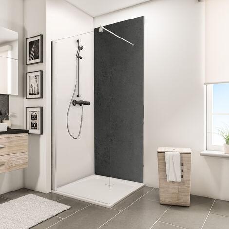 Panneau mural 100 x 210 cm, revêtement pour douche et salle de bains ...