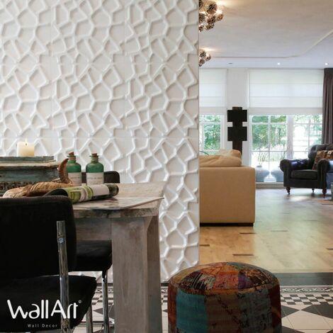 Panneau Mural 3d WallArt Panneau Mur 3D Gaps : 3m²