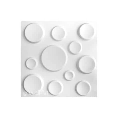 Panneau Mural 3d WallArt Panneaux 3D Craters : 3m²
