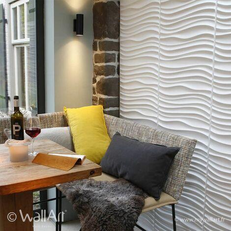Panneau Mural 3d WallArt Panneaux 3D Mawxell : 3m²