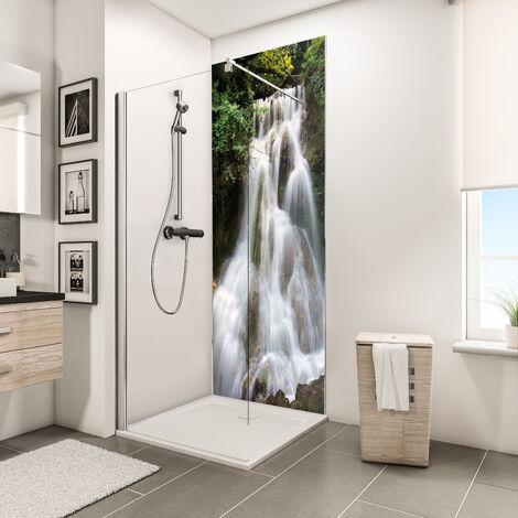Panneau mural 90 x 210 cm, revêtement pour douche et salle de bains, DécoDesign PHOTO, Schulte, différents décors au choix